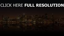 panorama nacht stadt san francisco