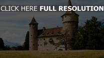 gotische architektur burg schweiz