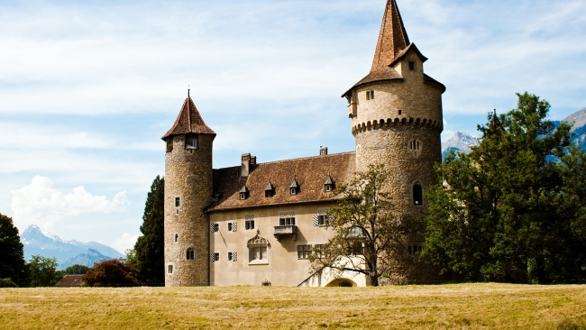 hd hintergrundbilder gotische architektur burg schweiz