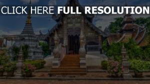 chiang mai hdr tempel thailand