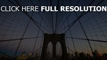 abend new york brooklyn bridge