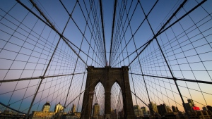 abend new york brooklyn bridge