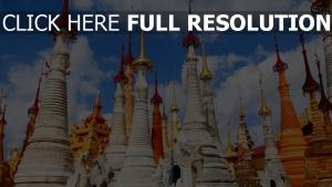 birma tempel pagode myanmar architektur gebäude