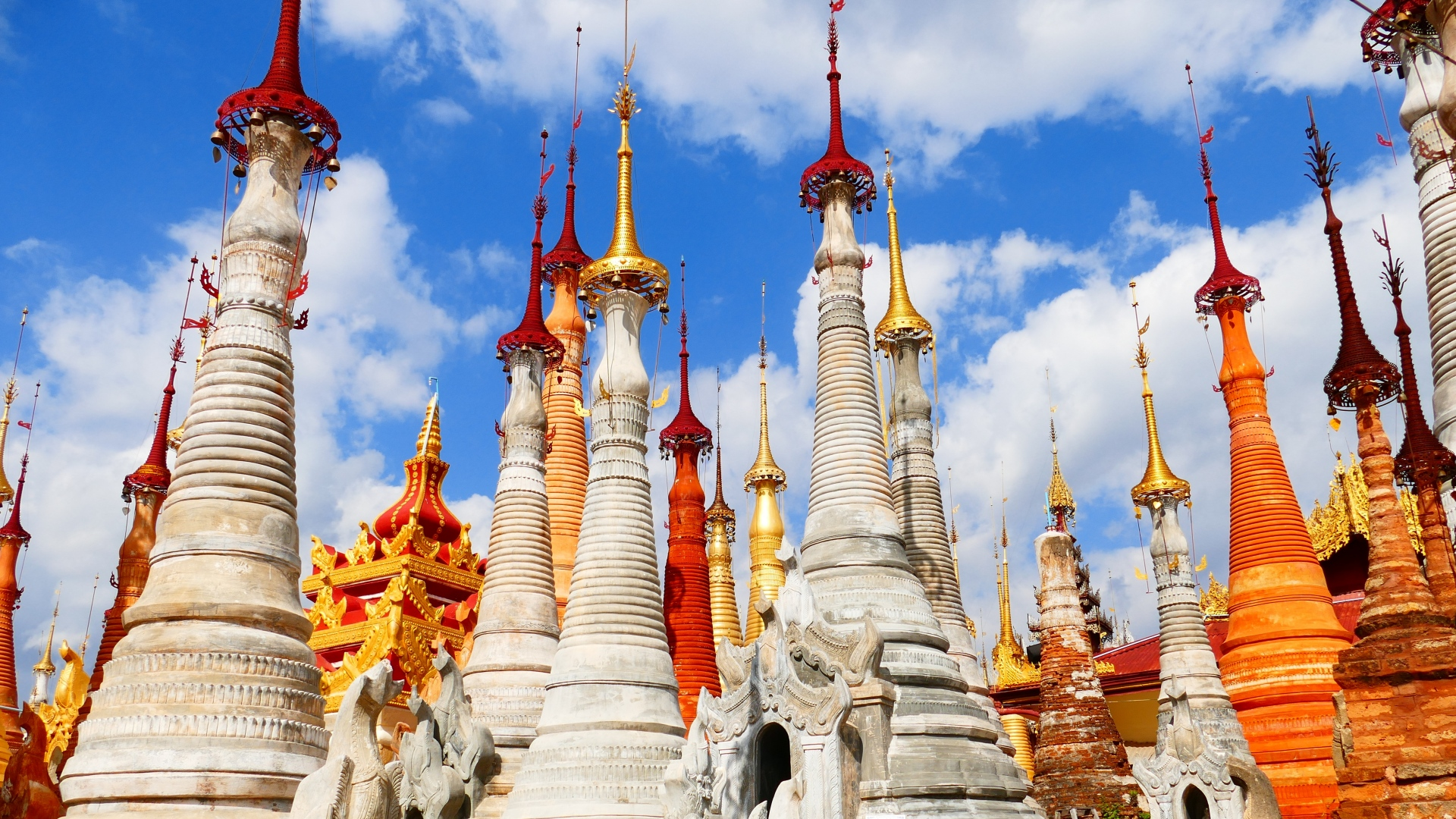 hd hintergrundbilder birma tempel pagode myanmar architektur gebäude 1920x1080