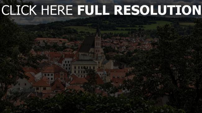 hd hintergrundbilder architektur bäume gebäude tschechische republik