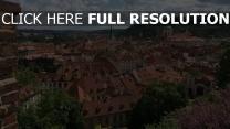 gebäude ansicht von oben altstadt tschechische republik
