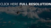 wolken meer dichtung meer wasser eisschollen