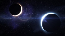 planeten sterne mond planeten eclipse