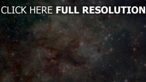 sterne lichter nebelfleck dunst