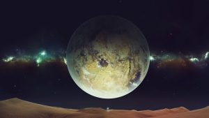 landschaft planeten mond sterne wüste