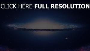 sterne galaxie glühen planeten