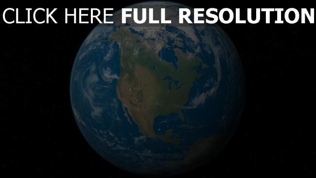 hd hintergrundbilder planet erde wolken kontinenten sterne