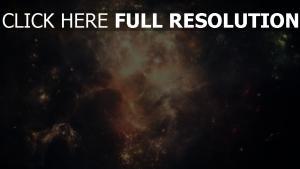 sterne lichter feuer glut nebula
