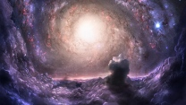 nebelfleck spirale lichter sterne