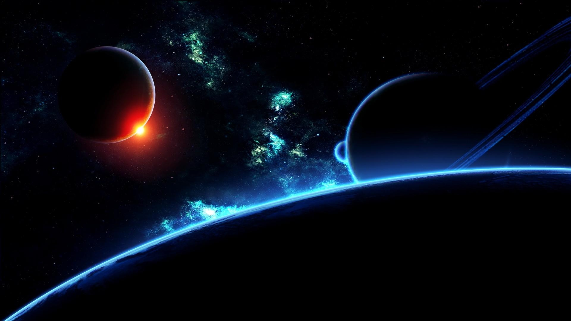 hd hintergrundbilder planeten dunkel erde saturn nebelfleck  desktop hintergrund