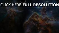 nebel explosionen rauch glühen planeten