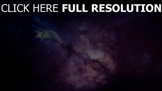 hd hintergrundbilder sterne lichter nebelfleck rauch licht