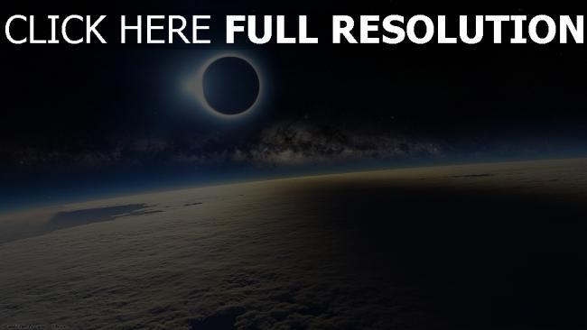 hd hintergrundbilder erde wolken planeten mond verfinsterung