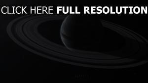 ringe planeten sterne schatten