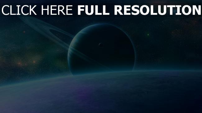 hd hintergrundbilder planeten sterne ringe glanz