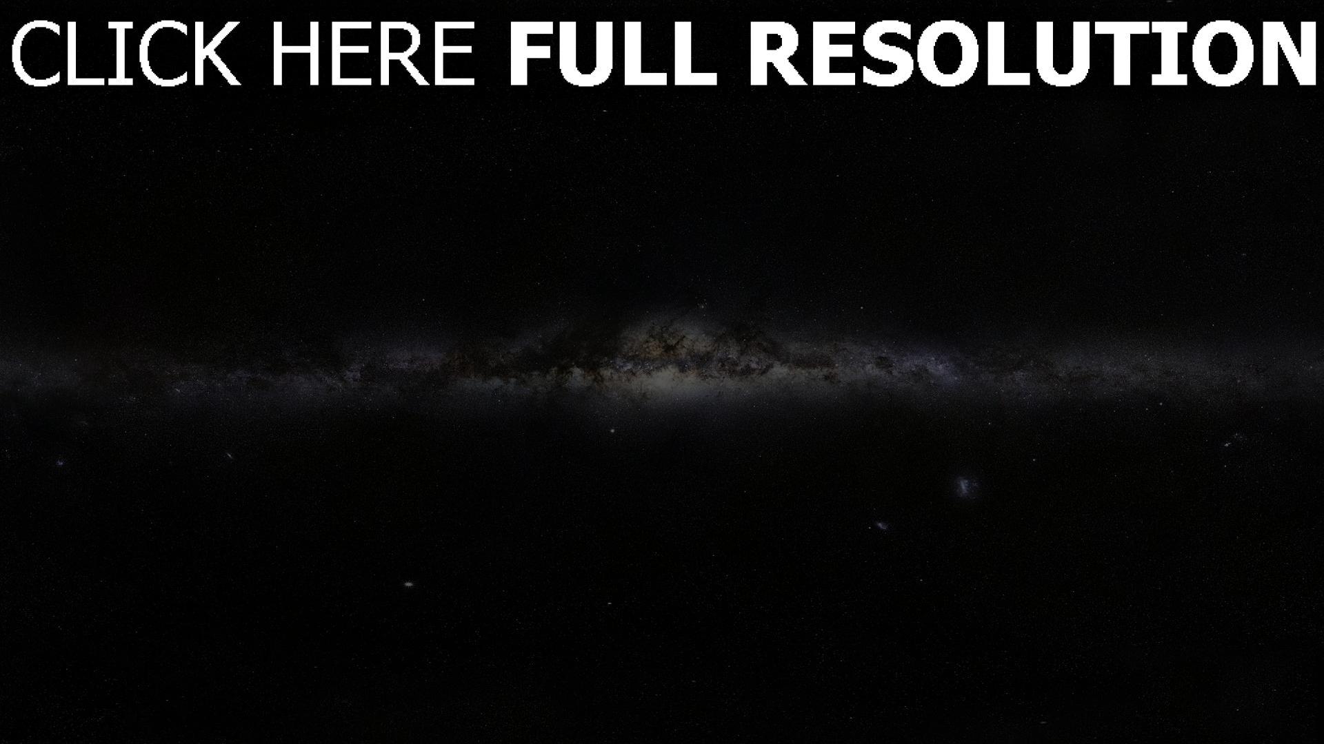 hd hintergrundbilder sterne milchstraße nebel licht 1920x1080
