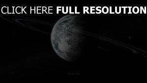 planeten ringe satelliten nebel