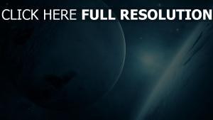 planeten licht glanz galaxy