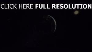 planet erde sterne licht