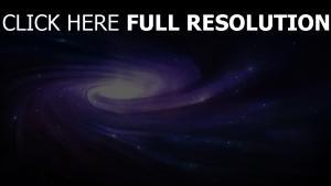 glühen spirale wirbel sterne