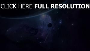 planeten sterne meteoriten ausstrahlung satellit