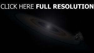 sterne ringe bahn asteroiden