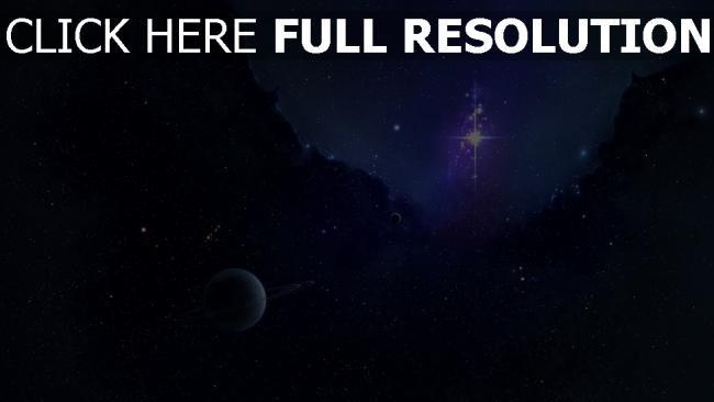 hd hintergrundbilder planeten ringe sterne konstellationen