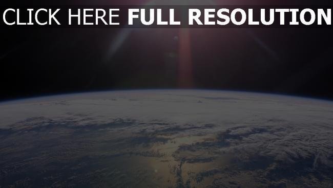 hd hintergrundbilder planeten oberfläche ozean wolken