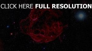 sterne konstellationen nebelfleck glühen