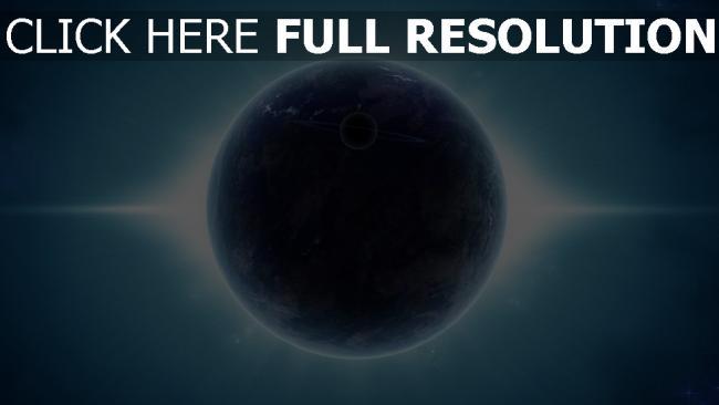 hd hintergrundbilder planeten satelliten ringe glanz strahlen