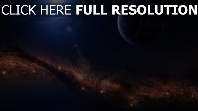 hd hintergrundbilder nebelfleck planet glühen strahlen