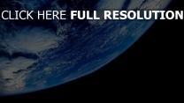 planet erde himmel wolken unendlichkeit